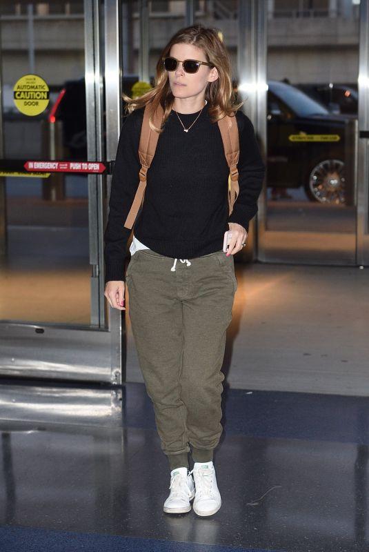KATE MARA at JFK Airport in New York 05/02/2018
