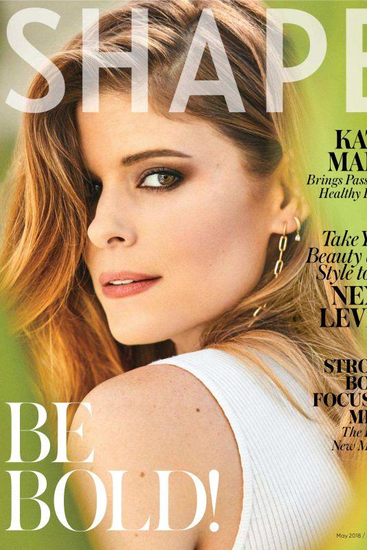 KATE MARA for Shape Magazine, May 2018 Issue