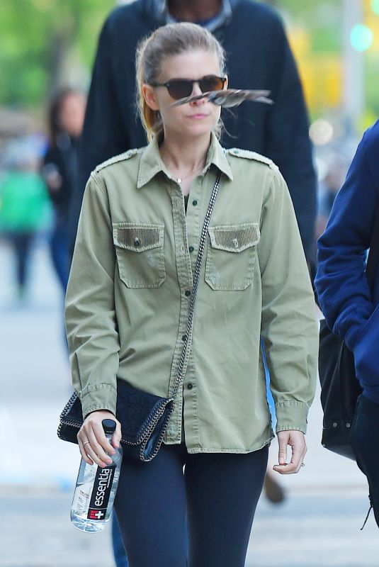 KATE MARA Out and About in New York 05/10/2018