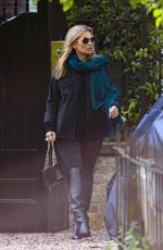 KATE MOSS Out in London 05/03/2018
