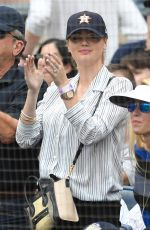 KATE UPTON at Yankees vs Astros Game in Bronx 05/28/2018