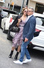 KATHARINE MCPHEE and David Foster Out on Central Park in New York 05/11/2018