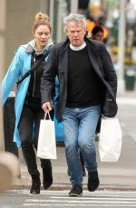 KATHARINE MCPHEE and David Foster Out Shopping in New York 04/30/2018