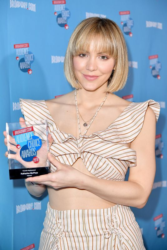 KATHARINE MCPHEE at broadway.com Audience Choice Awards Winners Cocktail Party in New York 05/24/2018