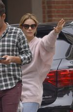 KATHARINE MCPHEE at Nellos Restaurant in New York 05/19/2018