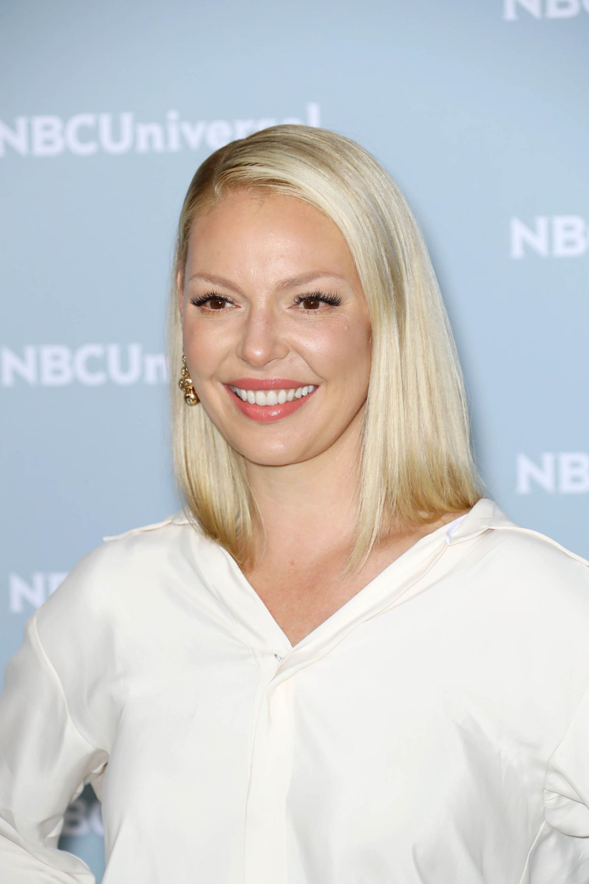 KATHERINE HEIGL at NBCUniversal Upfront Presentation in ... Katherine Heigl