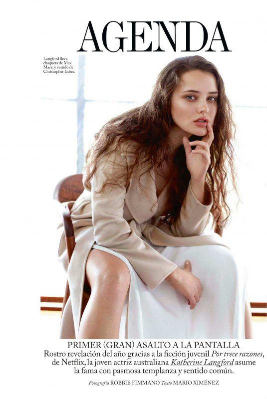 KATHERINE LANFORD in Vogue Magazine, Spain June 2018 Issue