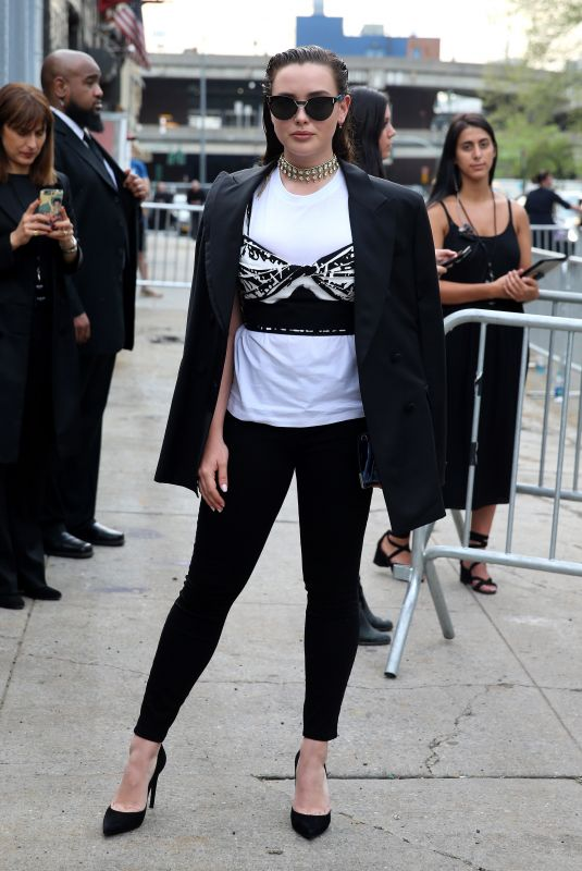 KATHERINE LANGFORD Arrives at Prada Resort: 2019 Show in New York 05/04/2018