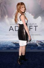 KATHERINE MCNAMARA at Adrift Premiere in Los Angeles 05/23/2018