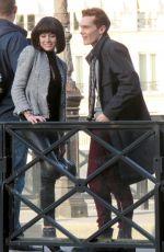 KATHERINE MCNAMARA on the Set of Shadowhunters, Season 3 in Paris 05/17/2018