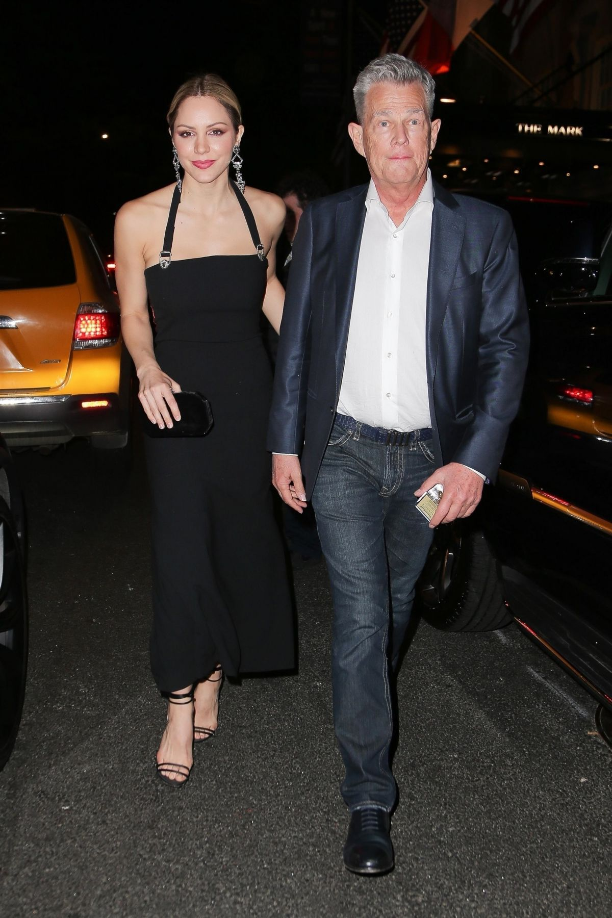 Katherine Mcphee And David Foster Night Out In New York 05