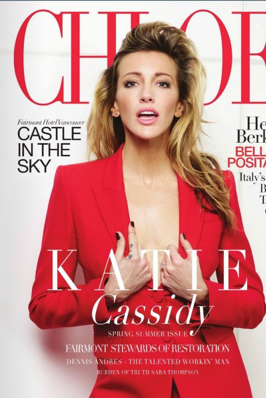 KATIE CASSIDY in Chloe Magazine, Spring 2018 Issue