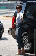 KATIE HOLMES Arrives at JFK Airport in New York 05/07/2018