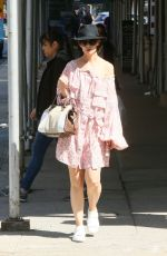 KATIE HOLMES Out and About in New York 05/14/2018