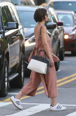 KATIE HOLMES Out and About in New York 05/29/2018