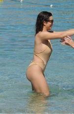 KATIE SALMON and INDIA JENNINGS in Bikinis at a Beach in Marbella 04/24/2018