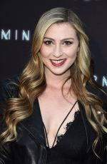 KATIE WILSON at Terminal Premiere in Los Angeles 05/08/2018