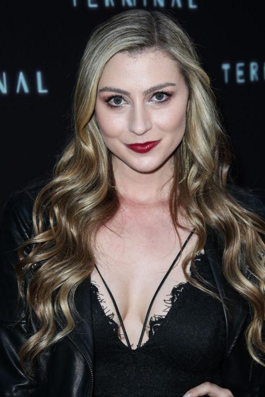KATIE WILSON at Terminal Premiere in Los Angeles 05/08/2018