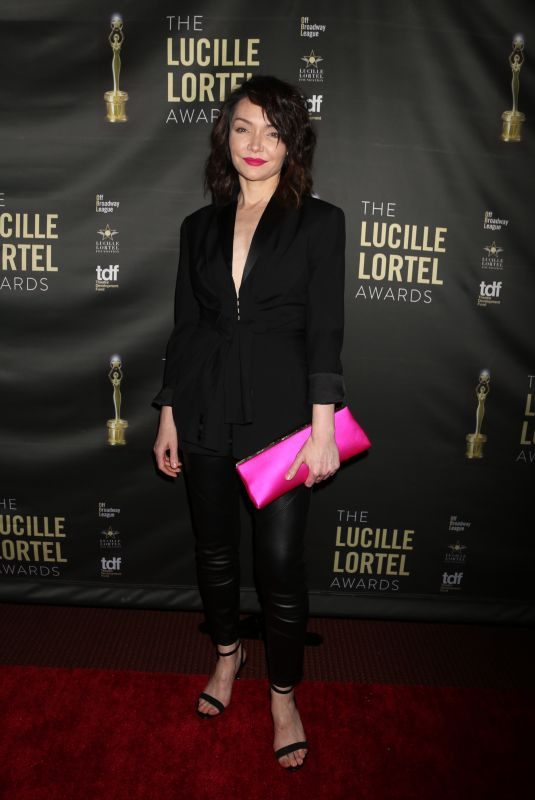 KATRINA LENK at 2018 Lucille Lortel Awards in New York 05/06/2018