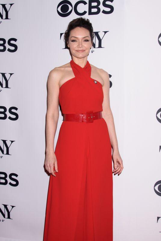 KATRINA LENK at Tony Awards Nominees Photocall in New York 05/02/2018