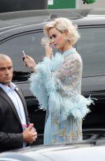 KATY PERRY American Idol Set in Los Angeles 05/20/2018