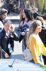 KATY PERRY Arrives at American Idol Studio in Los Angeles 05/13/2018
