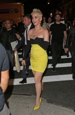 KATY PERRY Night Out in New York 05/08/2018