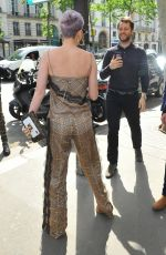 KATY PERRY Out for Lunch at Cafe De Flore in Paris 05/30/2018