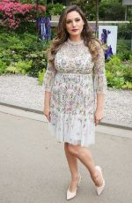 KELLY BROOK at Chelsea Flower Show in London 05/21/2018