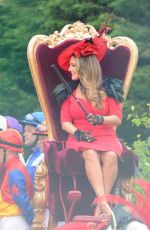 KELLY BROOK on the Set of a Commercial in Liverpool 05/30/2018