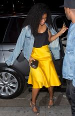 KELLY ROWLAND at Stevie Wonder's Birthday Early Celebration in West Hollywood 05/09/2018