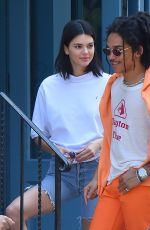 KENDALL JENNER and Luka Sabbat Out in New York 05/09/2018