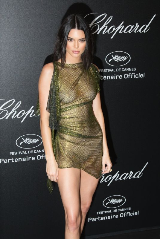 KENDALL JENNER at Secret Chopard Party at 71st Cannes Film Festival 05/11/2018