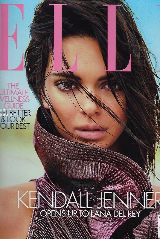 KENDALL JENNER in Elle Magazine, June 2018 Issue