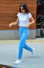 KENDALL JENNER in Jeans Leaves Her Hotel in New York 05/03/2018