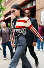 KENDALL JENNER Leaves Her Apartment in New York 05/22/2018