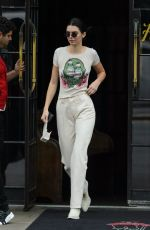 KENDALL JENNER Out and About in New York 05/06/2018