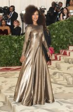 KERRY WASHINGTON at MET Gala 2018 in New York 05/07/2018