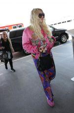 KESHA SEBERT at LAX Airport in Los Angeles 05/05/2018