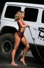 KHLOE TERAE in Bikini for 138 Water Photoshoot in Malibu 05/01/2018
