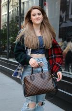 KIARA SAULTERS Out and About in New York 05/14/2018