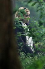 KIERNAN SHIPKA on the Set of Chilling Adventures of Sabrina in Vancouver 05/11/2018