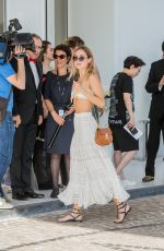 KIMBERLEY GARNER Arrives at Hotel Martinez in Cannes 05/17/2018