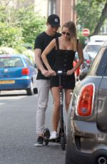 KIMBERLEY GARNER Out and About in London 05/26/2018