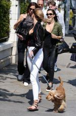 KIMBERLEY GARNER Out with Her Dog in London 05/23/2018