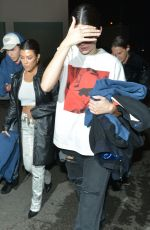 KOURTNEY KARDASHIAN and KENDALL JENNER at Troubador in West Hollywood 05/01/2018