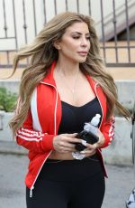 KOURTNEY KARDASHIAN and LARSA PIPPEN Out for Coffee in Calabasas 04/30/2018