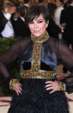 KRIS JENNER at MET Gala 2018 in New York 05/07/2018
