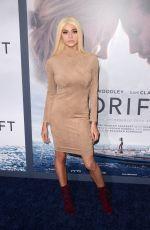 KRISTEN HANCHER at Adrift Premiere in Los Angeles 05/23/2018