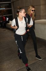 KRISTEN STEWART and STELLA MAXWELL at LAX Airport in Los Angeles 05/20/2018